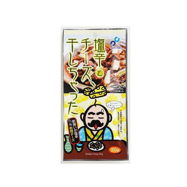 布目 塩辛とチーズ、干しちゃった 20g 「ゆうパケット対象商品」お取り寄せ おつまみ 北海道
