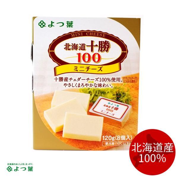 よつ葉乳業 北海道十勝100 ミニチーズ 8個入(120g)お取り寄せ プレゼント 贈り物 ギフト グルメ
