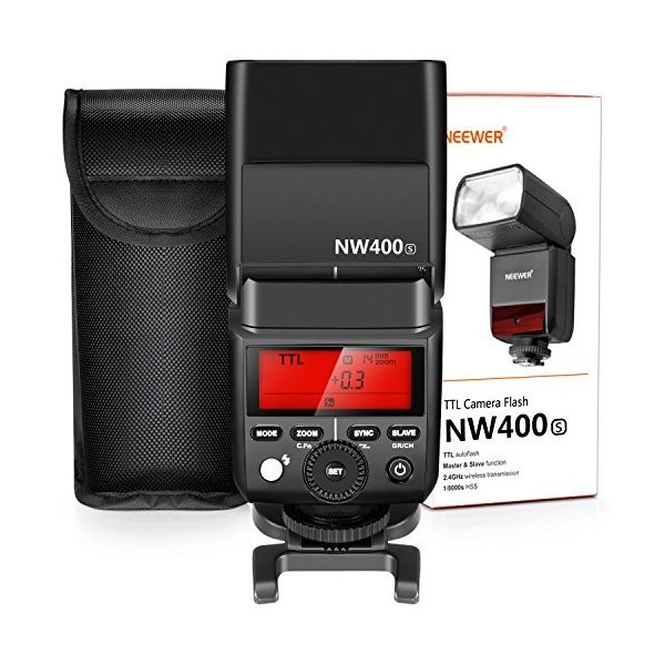 Neewer 2.4G HSS 1/8000s TTL GN36無線マスタースレーブフラッシュスピードライト Sony A7 A7R A7S A7II|hokkaido-umai