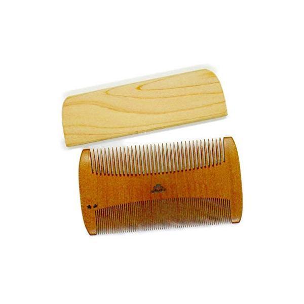 椿櫛 すき櫛〜つげ櫛職人が作りました〜髪に付いたホコリを取る事に特化した櫛です。シラミ駆除対応|hokkaido-umai