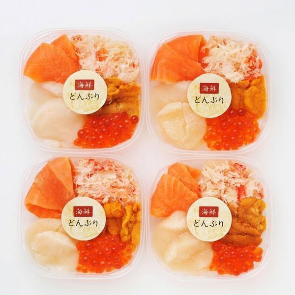 かに・いくら入り!極上海鮮4種丼 個包装 かに いくら 4食 北海道 ギフト|hokkaimaru|08