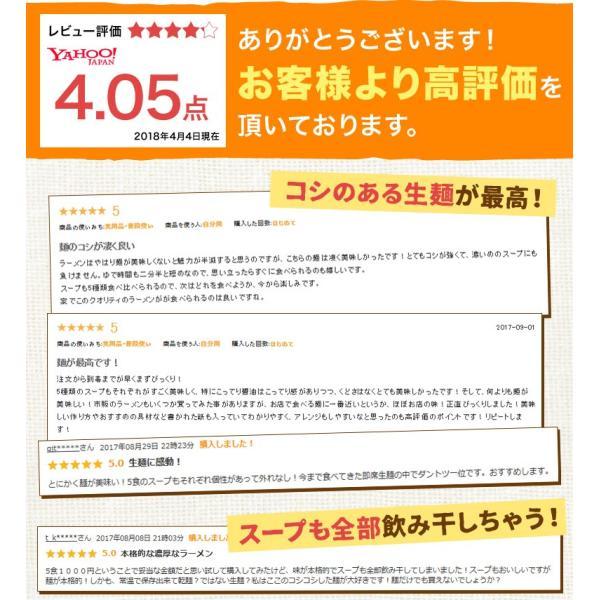 ラーメン 送料無料 北海道 5食セット 札幌熟成生麺 5種スープ食べ比べ ポッキリ 醤油 みそ 塩|hokkaimaru|02