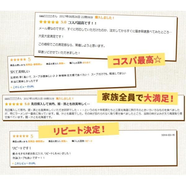 ラーメン 送料無料 北海道 5食セット 札幌熟成生麺 5種スープ食べ比べ ポッキリ 醤油 みそ 塩|hokkaimaru|03