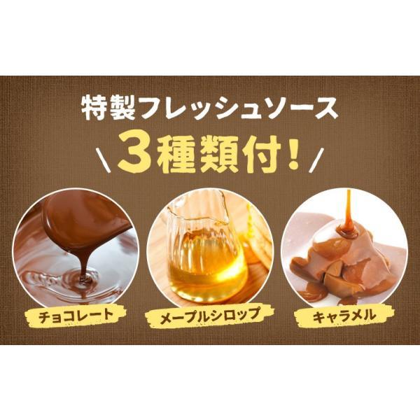 送料無料 北海道小麦100% パンケーキミックス 200g×3袋 特製ソース3種付 アルミフリー 小麦  ホットケーキ 業務用 メール便 ポッキリ hokkaimaru 05