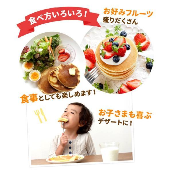 送料無料 北海道小麦100% パンケーキミックス 200g×3袋 特製ソース3種付 アルミフリー 小麦  ホットケーキ 業務用 メール便 ポッキリ hokkaimaru 09