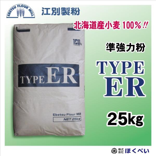 江別製粉 Type ER ハードブレッド用粉 25kg フランスパン用準強力粉 TYPE(タイプ)ER【北海道産】