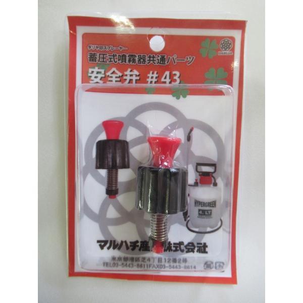 蓄圧式噴霧器 安全弁 #43