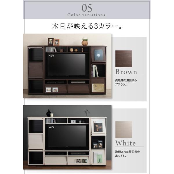 〔単品〕 フラップチェスト 1列3段 〔低めで揃える壁面収納〕 日本製|hokuo-lukit|13