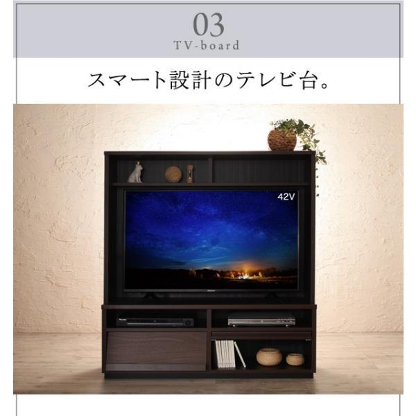 〔単品〕 フラップチェスト 1列3段 〔低めで揃える壁面収納〕 日本製|hokuo-lukit|09