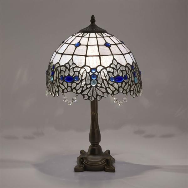 ステンドグラスランプ テーブルランプ ヴァレンティノ アンティーク調 クラシック 輸入品 照明 ランプ レトロ  EM162