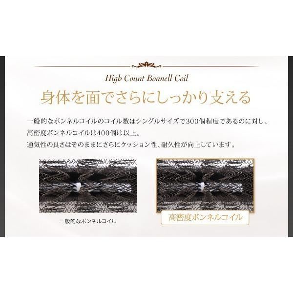 プレミアムマットレス キング ボンネルコイル 硬さ:かため 抗菌防臭防ダニ hokuoliving 09