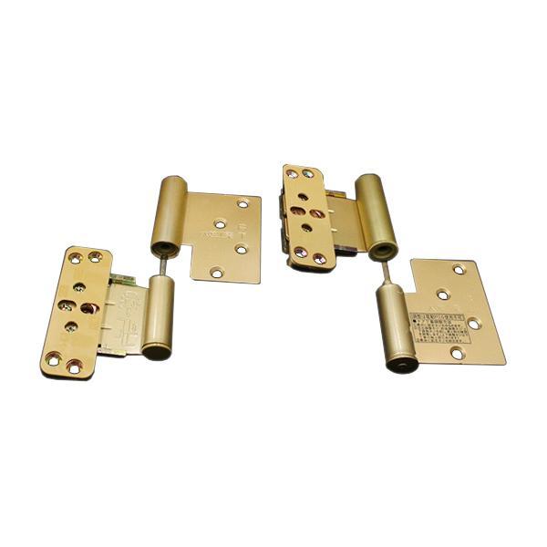 DAIKEN住宅 ドア丁番セット 2枚吊扉用(木ビス仕様)右開き ゴールド(PRH-5ATZAR2)|hokusei2
