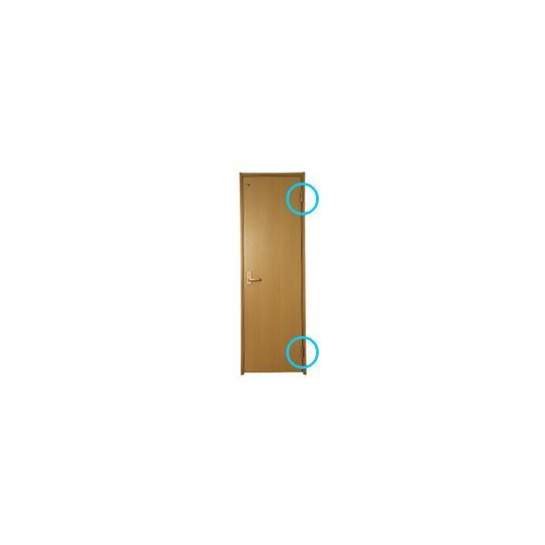 DAIKEN住宅 ドア丁番セット 2枚吊扉用(木ビス仕様)右開き ゴールド(PRH-5ATZAR2)|hokusei2|02