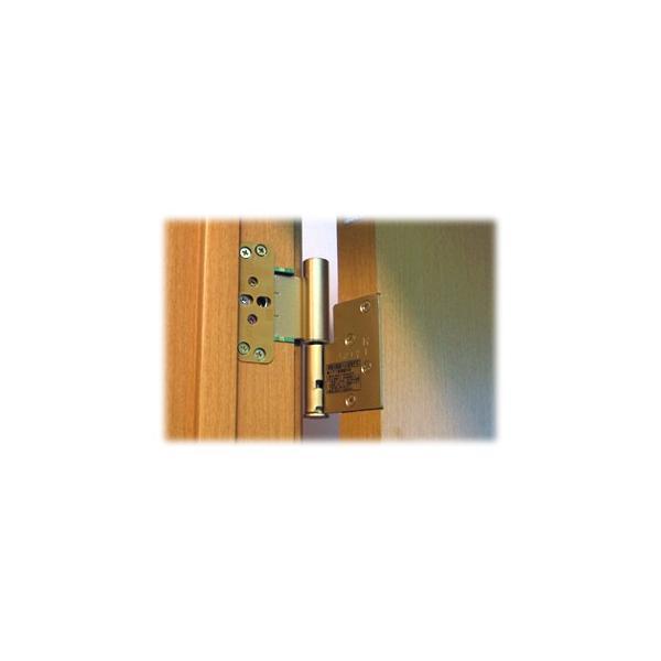 DAIKEN住宅 ドア丁番セット 2枚吊扉用(木ビス仕様)右開き ゴールド(PRH-5ATZAR2)|hokusei2|03