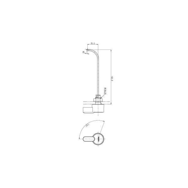 TOTO水回り部品 トイレ タンク レバーハンドル:ロータンクレバーハンドル(THY425ー2R) hokusei2 02