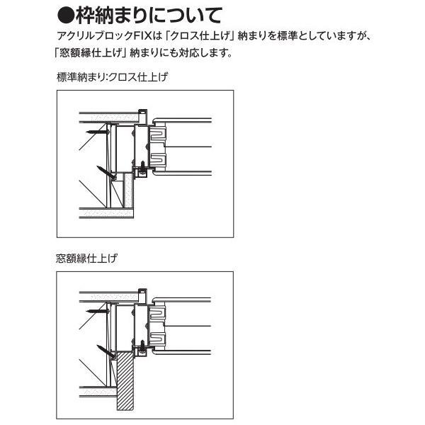 YKKAPアルミインテリア スクリーンパーティション[採光ユニット] アクリルブロックFIX(アルミ枠) 呼称幅237(幅2376mm)ブロック横15列:[幅2376mm×高868mm]【YKK hokusei 06