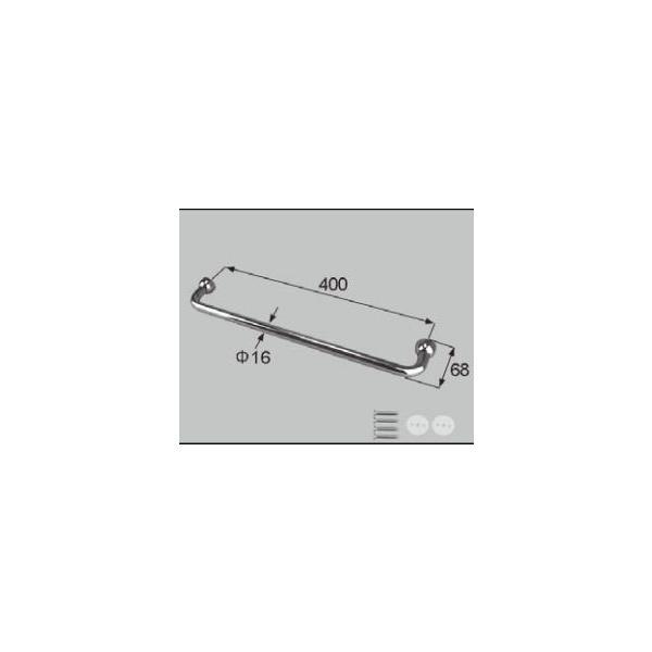 LIXIL補修用部品 住器用部品 バスルーム 器具 握りバー・タオル掛け:タオル掛け[RAFZ401]