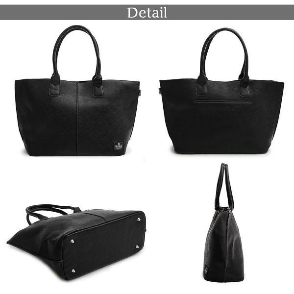 トートバッグ バッグ カジュアルバッグ ビジネスバッグ オフィスカジュアル 通勤 通学 大きめ 大容量 A4 PC シンプル 人気 バッグ 鞄 hokusetsu-syouten 16