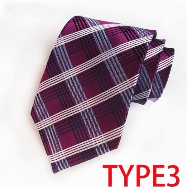 ネクタイ メンズ ストライプ チェック柄 スーツ ビジネス hokusetsu-syouten 04