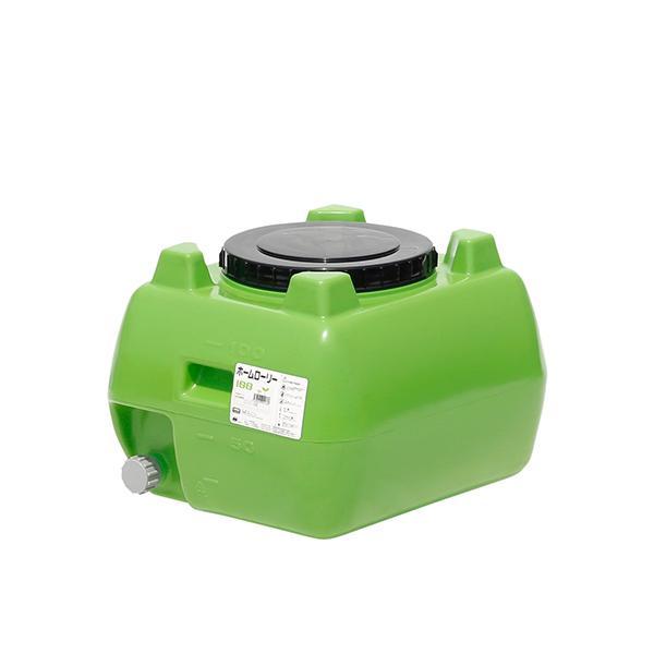 スイコー ホームローリー タンク  HLT-100 緑 貯水タンク 雨水タンク(個人様宛配送不可)