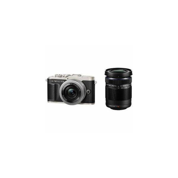 OLYMPUS デジタル一眼カメラ「OLYMPUS PEN E-PL9」EZダブルズームキット ブラック PEN-E-PL9-EZ