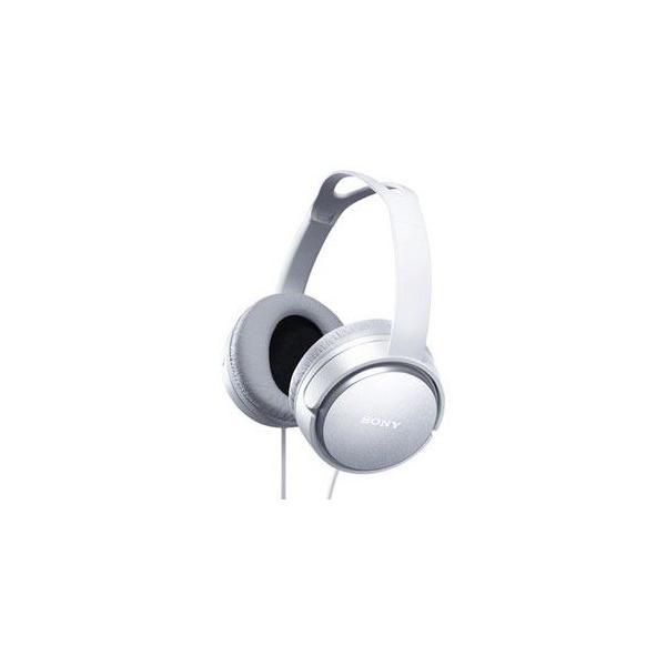 ソニー ステレオヘッドホン MDR-XD150(W)