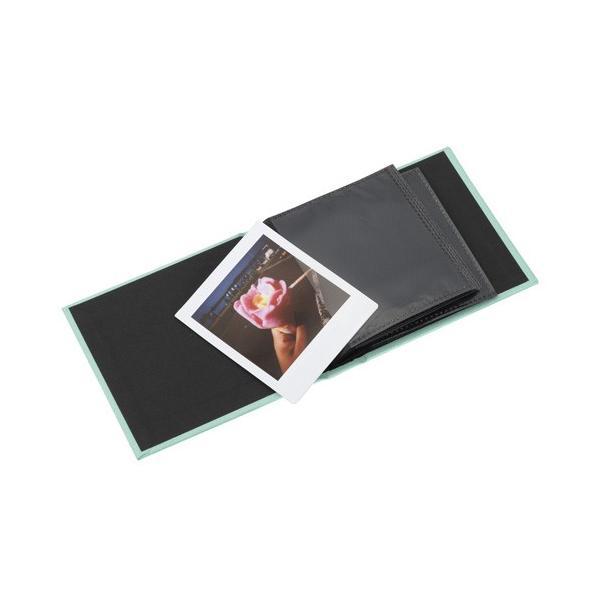 エツミ フォトアルバム エポカ チェキスクエア対応 20枚用 グリーンVE-5502