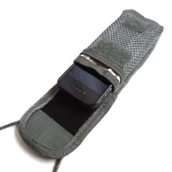 モール対応多機能iPhoneケース ブラック