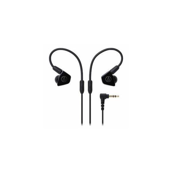 Audio-Technica オーディオテクニカ ATH-LS50-BK インナーイヤーヘッドホン(ブラック)