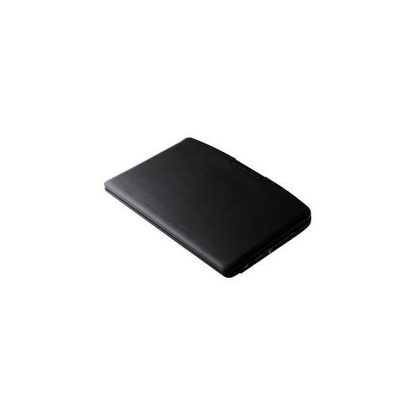 エスキュービズム 12.5インチポータブルDVDプレーヤー(内蔵バッテリー) APD-1251