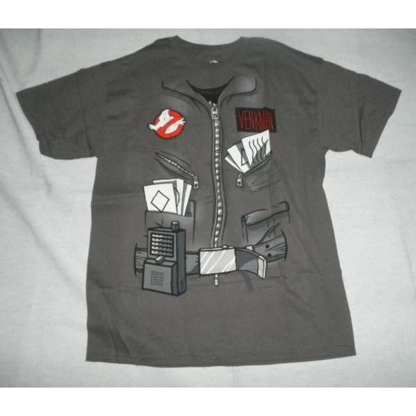 コスチューム風のゴーストバスターズTシャツ