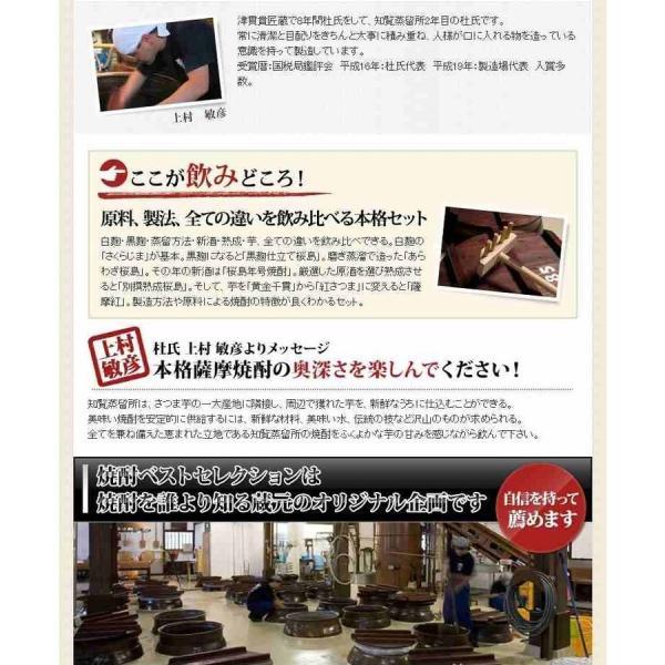 芋焼酎 6本セット/知覧蒸留所 薩摩紅の豪華セット|hombo|06