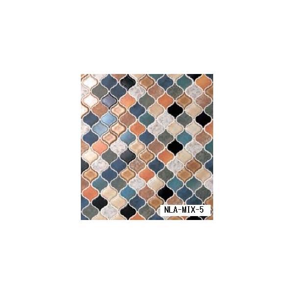 名古屋モザイク corabel コラベル NLA-MIX-5 64X56異形Aパターン紙貼り