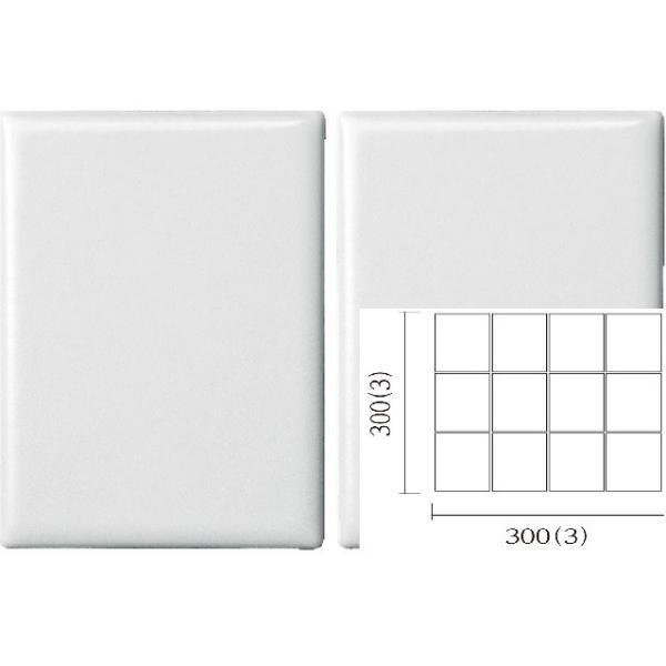 名古屋モザイク PURITY ピュリティ 100×75角平紙貼り(スダレ貼り) (ケース)PUR-S-1
