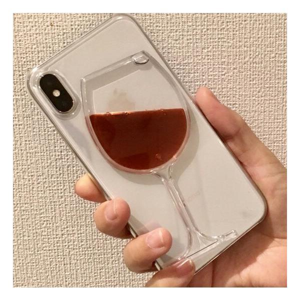 iPhone ケース 7Plus iPhone ケース 8Plus iPhone ケース X iphone カバー 赤ワイン 薄型軽量 透明 クリア ジャケット|homekitchenonline