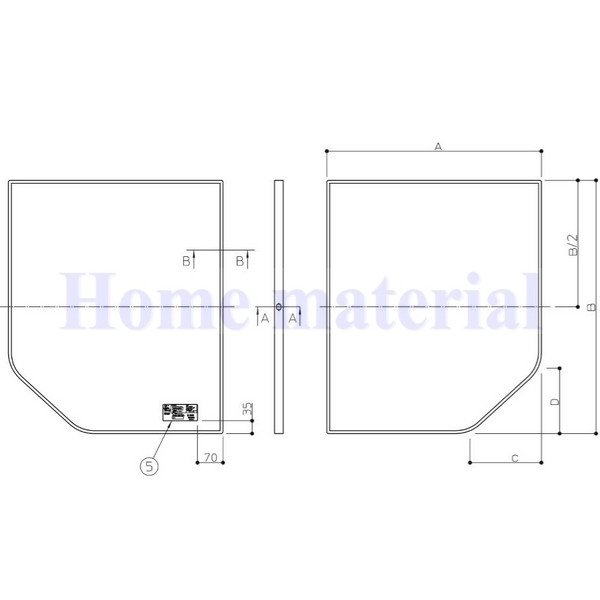 納期未定品 お風呂のふた TOTO 風呂ふた 組み合わせ式 組みふた 断熱風呂蓋 EKK84128W1 (代替品 AFKK84128W ) 695×1180