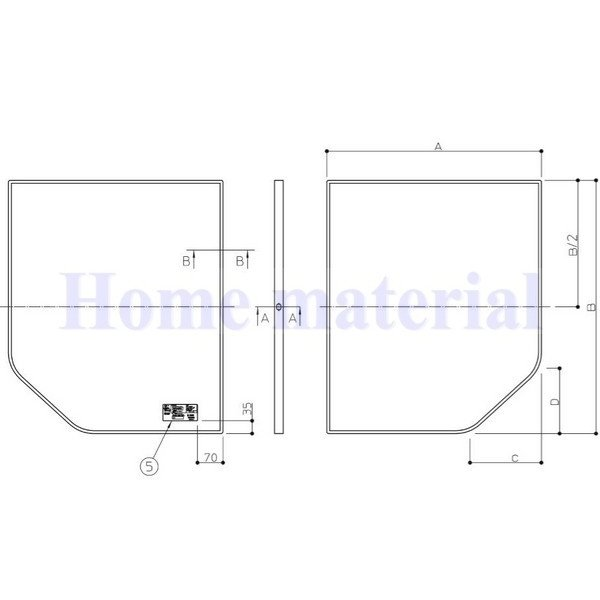 お風呂のふた TOTO 風呂ふた 組み合わせ式 組みふた 断熱風呂蓋 AFKK84129W1 695×1280