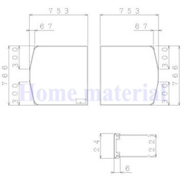 日立ハウステック 風呂ふた 断熱クミフタ 753×766 2枚 商品コード : EJ09-PT4024 適用シリーズ:フェリテ スマートライン/ラウンド/スクエア浴槽用