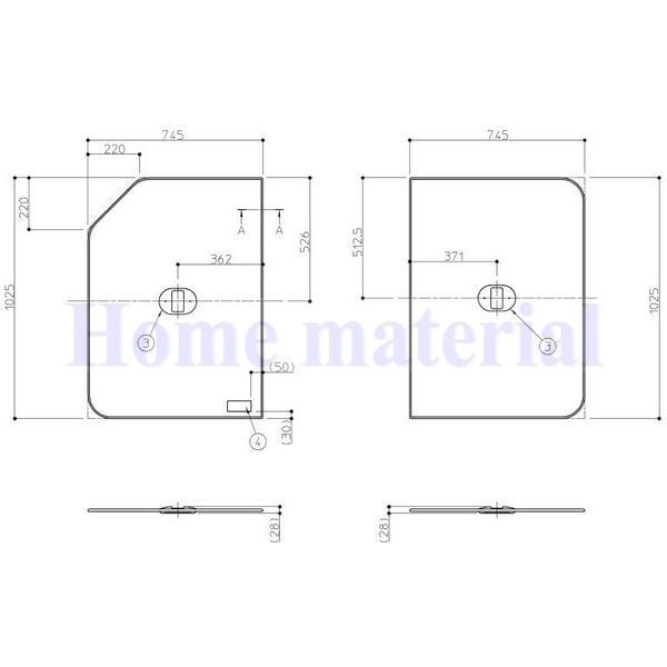 お風呂のふた TOTO 風呂ふた 組み合わせ式 組みふた EKK81131WL EKK81131WR (代替品 EKK81140WL EKK81140WR )
