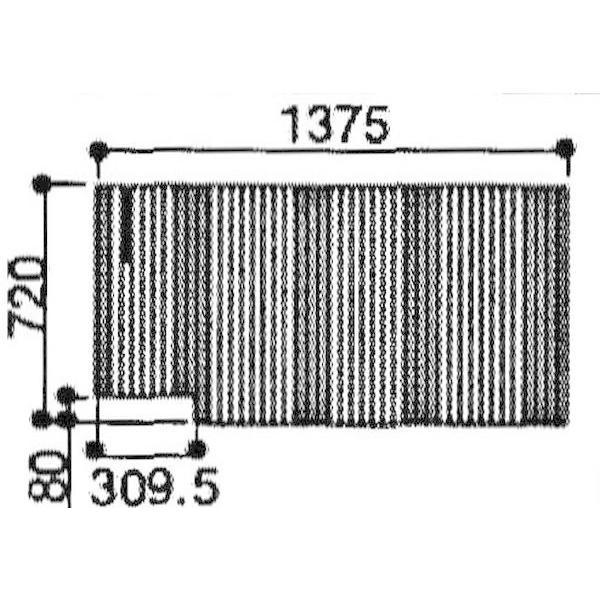 在庫有 日立ハウステック 風呂ふた シャッター式ふろふた 外寸:720×1375mm 品番 SYS1-PT1009 適用浴槽 YPBA-1616R YRBA-1616R YXBD-1616R 巻きふた
