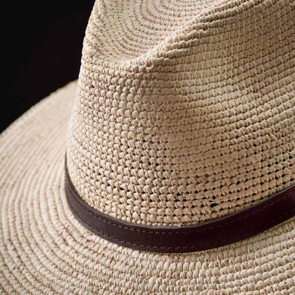 帽子 パナマハット メンズ レディース HomeroOrtega オメロオルテガ JUNGLA MP ジャングル MP パナマ帽 春夏|homeroortega|06