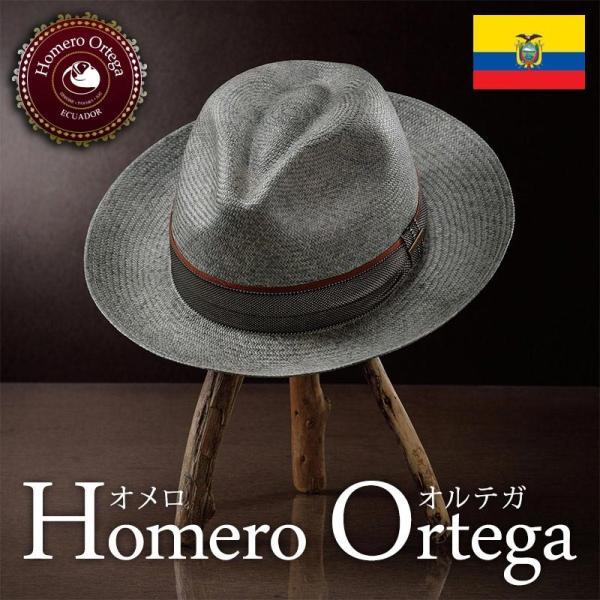 帽子 パナマハット メンズ レディース HomeroOrtega オメロオルテガ FADI ファディ パナマ帽 春夏|homeroortega
