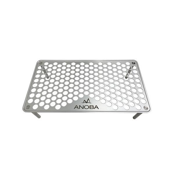 ANOBAアノバULソロテーブルパンチングAN001(収納袋付き)(アウトドアテーブル)