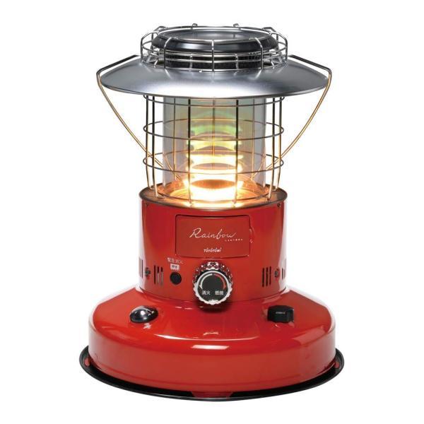 (代引き不可)TOYOTOMI 石油暖房機 RL-250(R)レッド (レインボーの炎)(ラッピング不可)(メール便不可)