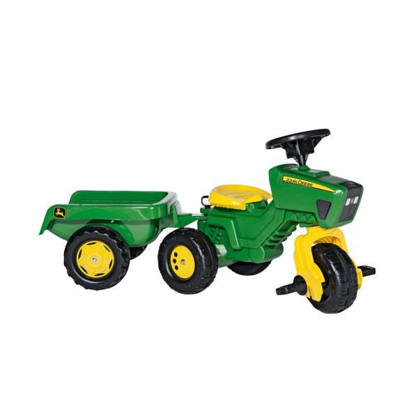 rolly toys(ロリートイズ) 乗用玩具 RT052769 ジョンディアートライク 三輪車 乗り物 おもちゃ 乗れる 誕生日 プレゼント 男の子 2歳 3歳 4歳(ラッピング不可)