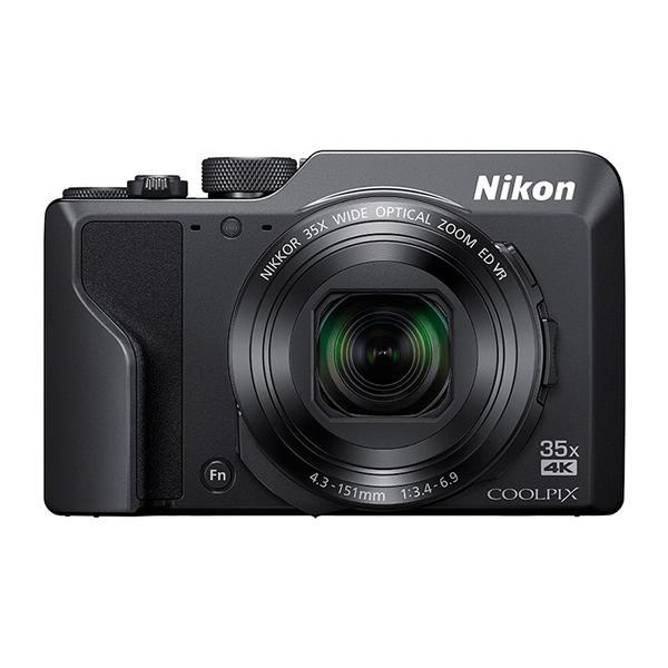ニコン コンパクトデジタルカメラ COOLPIX A1000 ブラック (Nikon) (メール便不可)