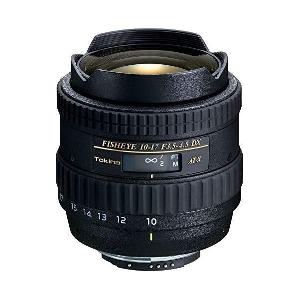 (送料無料)トキナー(Tokina)AT-X107 DX Fisheye 10-17mm F3.5-4.5魚眼レンズ(デジタル一眼レフ専用)(マウント選択式)(メール便不可)