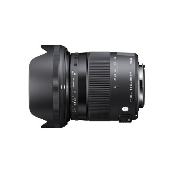 シグマ17-70mm F2.8-4 DC MACRO HSM ソニー用 (Aマウント用) Contemporaryライン 標準ズームレンズ(メール便不可)