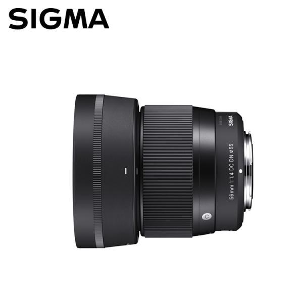 シグマ 56mm F1.4 DC DN Contemporary キャノン EF-Mマウント 中望遠レンズ (メール便不可)
