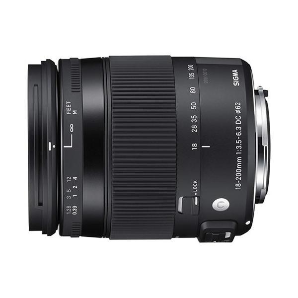 シグマ 18-200mm F3.5-6.3 DC MACRO OS HSM ペンタックス用 (Kマウント) Contemporaryライン 高倍率ズームレンズ(メール便不可)